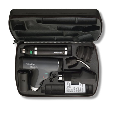 18833-SM: Diagnostic Set with PanOptic Ophth, Retinoscope, Lithium-Ion handle and Transilluminator